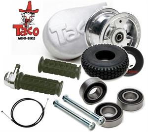 TacoTaco 22 Minibike Parts Kit Minibike Clutch Cover