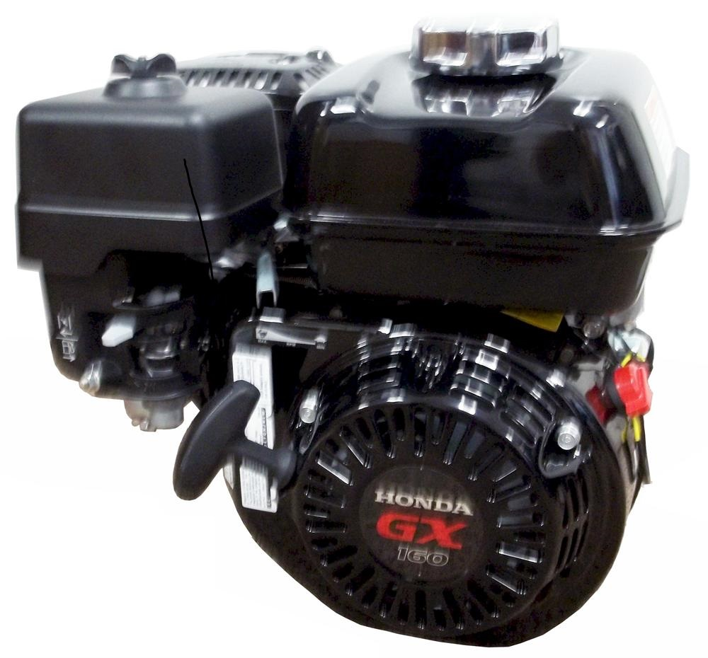 Honda Gx160 Engine Black