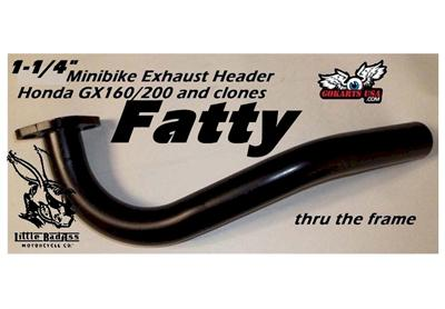Mini Bike Fr Exhaust Header — Totoku