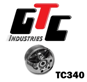 "1301 - TC340 DRIVE CLUTCH 3/4"" BORE, 3/16"" KEYWAY"
