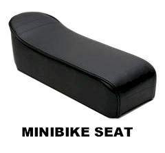 Mini Bike Seat, for Taco 22